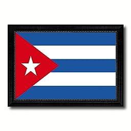 Cuba National Country Flag Print On Canvas Design Primitive Wall Art Home Decor Office Interior Souvenir Gift Ideas, 23\
