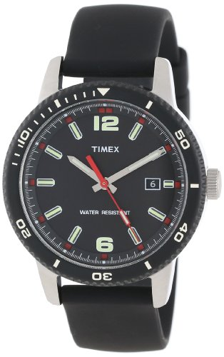 Timex Unisex T2N6639J Originals Dive Style Black Strap Watch