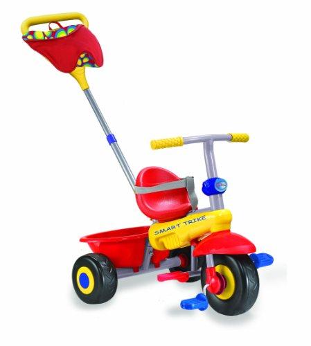 Smart-Trike - Triciclo plus Fresh, colore: Rosso/Giallo