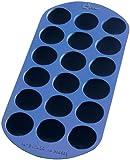 Lékué Gourmet - Cubitera redonda, 18 cavidades, color azul