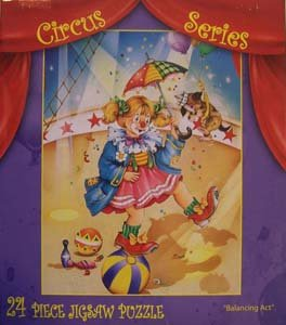Circus Series Children's 24 Piece Jigsaw Puzzle