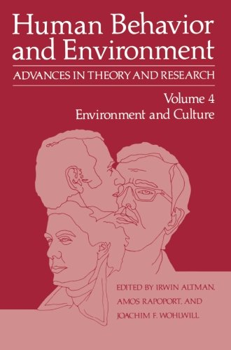 Environment and Culture (Human Behavior and Environment)