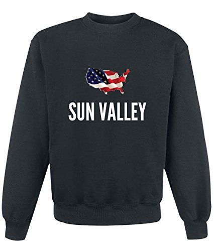 Felpa Sun valley city Black