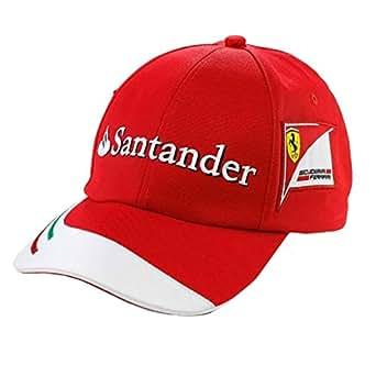 Amazon.com: Child Cap Ferrari Santander - RED, ONESIZE: Clothing