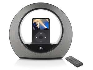 JBL Radial micro Haut-parleurs Stéréo / Station d'accueil pour iPOD Son Surround 20 W Noir