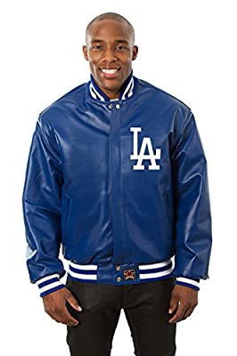 Los Angeles Dodgers Leather Varsity Jacket