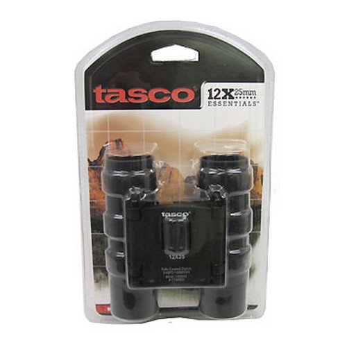 Tasco Essentials 12x25mm blk Roof Prism - 178RBD