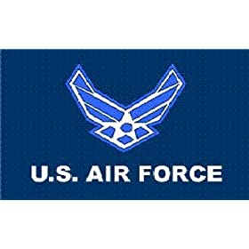 """Air Force """"New Style"""" MILITARY Flag - 3 foot by 5 foot Polyester (NEW)"""