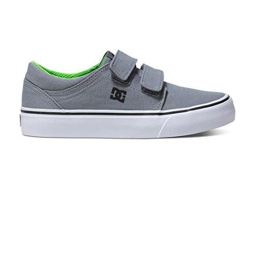 Chaussure Enfant DC Trase V Gris-Noir-Vert