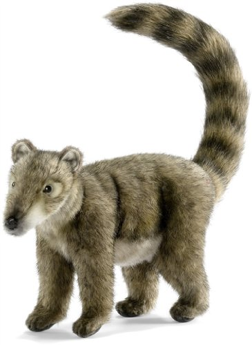 Coatimundi Toy Reproduction By Hansa, 12'' Long -Affordable Gift for your Little One! Item #DHAN-4825