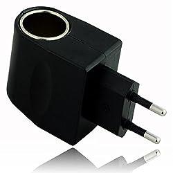 220V AC to 12V DC Car Charger Wall Power Socket Plug Adapter Converter