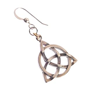 Delicate Triquetra Earrings