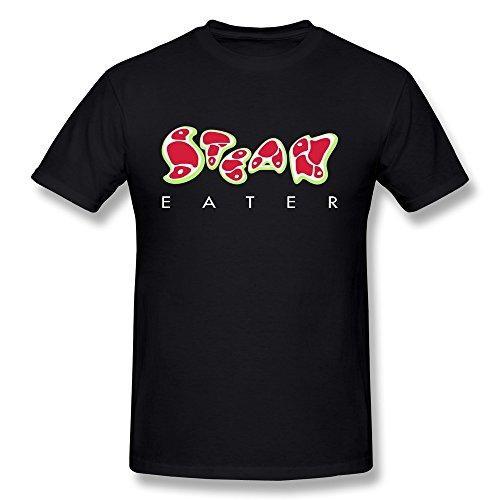 Custom Men'S Short Sleeves Steak Eater Flex T Shirt