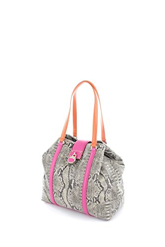 Cavalli Class Medium Shoulder Bag Luxe Cruise Fuxia/Orange