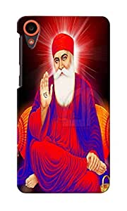 CimaCase Guru Nanak Singh Ji Designer 3D Printed Case Cover For HTC Desire 820