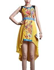 Women's Elegant Irregular Skirt Dress Size Coupon 2015