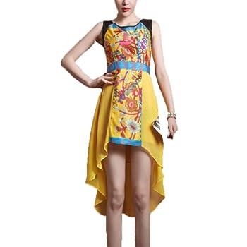Women's Elegant Irregular Skirt Dress Size promo code 2015