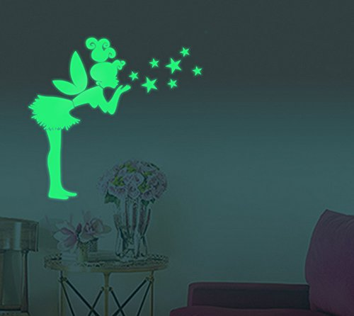 extsudr-ceiling-fluorescent-luminous-wall-decors-glow-in-the-dark-wall-decals-angle-girl-decor-stick