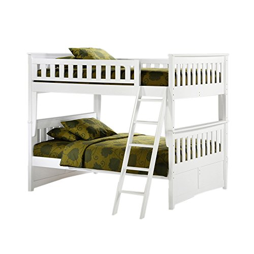 Full Over Futon Bunk Bed 5971 front