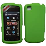 For AT&T LG Gt550 Encore Accessory - GREEN Hard Case Proctor Cover