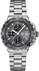 Tag Heuer Formula 1 Grey Dial Stainless Steel Mens Watch CAU2010.BA0874