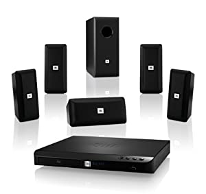 JBL Cinema BD 100 Complete 5.1-Channel 3D Blu-ray Disc Integrated Home Theater System from JBL