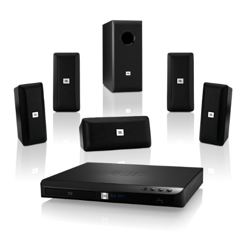 Jbl Cinema Bd 100 Complete 5.1-Channel 3D Blu-Ray Disc Integrated Home Theater System