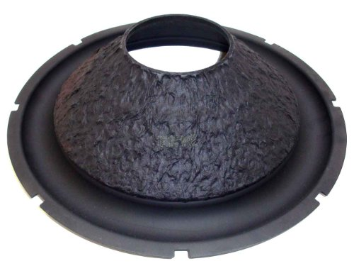 "Genuine 15"" Rockford Fosgate Hx2 Subwoofer Cone With Rubber Surround - 15 Inch"