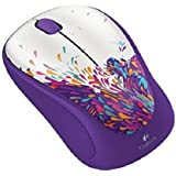Logitech 910-004267 M317 Wireless Mouse Limited Edition, Exuberance