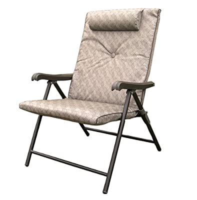 Prime Products 13-3371 Brown Prime Plus Folding Chair
