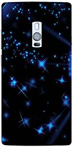 Snoogg Stars And Circles Solid Snap On - Back Cover All Around Protection For...