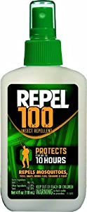 Repel 100 Insect Repellent, 4 oz. Pump Spray, 6 Bottles