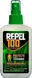 Repel 94108 100 Insect Repellent Pump Spray, 98.11-Percent DEET, 4-Ounce