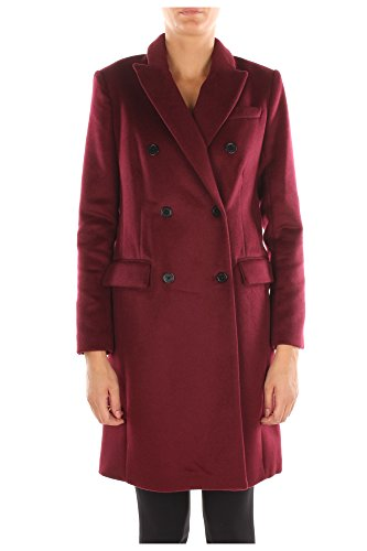 Cappotti Michael Kors Donna Lana Bordeaux MF52HBM0TJMERLOT Rosso 6 US - 44 IT