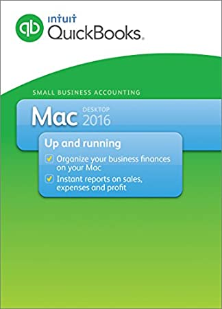 QuickBooks Mac 2016 Small Business Accounting Software [Old Version]