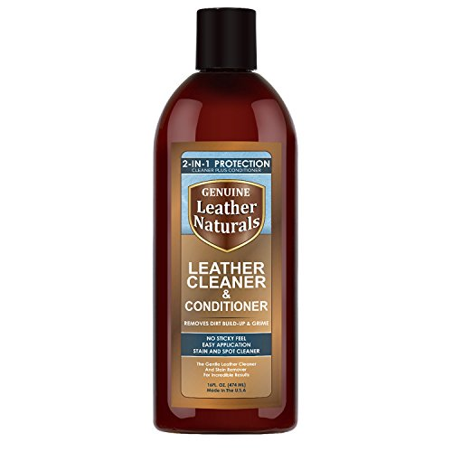 Leather Naturals Cleaner With Conditioner - The Ultimate Leather Cleaner With Lanolin Protection - Works Best For Furniture, Purses, Car Seats, Handbags, Shoes, Sofa, Boots & Leather Apparel - No Sticky Feel (Detailer Chair compare prices)
