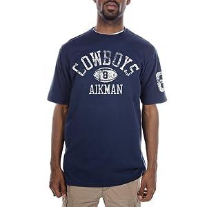 Dallas Cowboys Mens Aikman Tradition T-Shirt by Dallas Cowboys