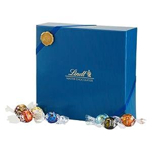Lindt Chocolate Lindt Emblem Lindor Gift Box, Navy