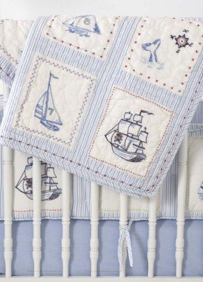 Sea Baby Bedding 5107 front
