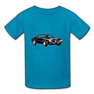 Custom kids t shirt cotton 1970 pontiac for Amazon custom t shirts