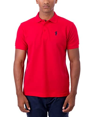 POLO CLUB Polo Original Small Rigby Cro Mc Rojo