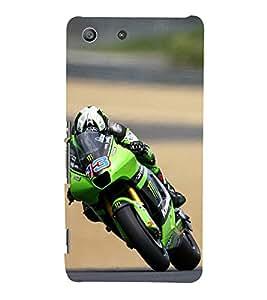 iFasho Sports Bike Back Case Cover for Sony Xperia M5 Dual