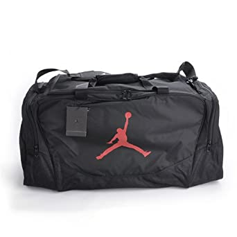 Amazon.com: Nike Jordan Travel Duffle Gym Sports Bag Gray