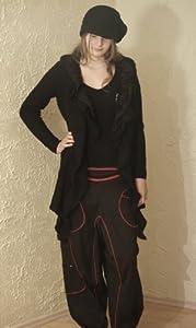 Trendige Aladin Haremshose Jodhpur Pumphose (Damenhose)