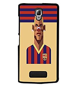 PrintDhaba Sports D-5948 Back Case Cover for LENOVO A2010 (Multi-Coloured)