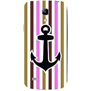 Skin4gadgets Anchor in beautiful Neapolitan Pattern 17 Phone Skin for SAMSUNG GALAXY S4 MINI (I9190,I91192)