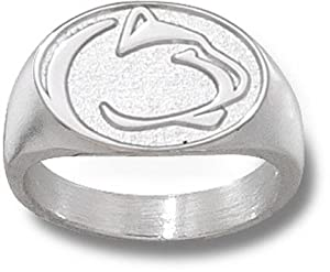 Penn State Nittany Lions Sterling Silver Lion Head 1 2