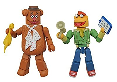 Minimates- The Muppets- Fozzie Bear & Scooter