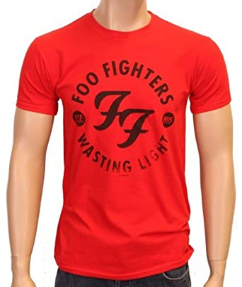 Coole-Fun-T-Shirts T-Shirt the Foo Fighters Wasting Light Neu, rot, S, FT191