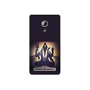 Asus zenfone go nkt11_L (23) Mobile Case by Mott2 - Lord Shiva